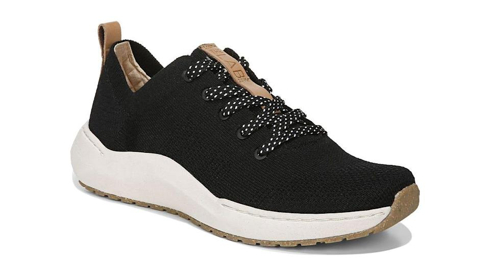 These sneakers are stylish and earth-friendly.