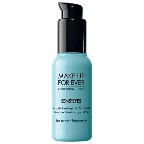 "<p>If other makeup removers have left your eyes stinging or red, many other Sephora shoppers rely on this <span>Make Up For Ever Sens'Eyes - Waterproof Sensitive Eye Cleanser</span> ($11-$25) to take off the <a href=""https://www.popsugar.com/beauty/top-rated-waterproof-eyeliners-sephora-47318638"" class=""link rapid-noclick-resp"" rel=""nofollow noopener"" target=""_blank"" data-ylk=""slk:waterproof liners"">waterproof liners</a> and mascaras other cleansers may leave behind. As a bonus to that gentle formula, it also moisturizes with honey extract so skin stays soft.</p>"