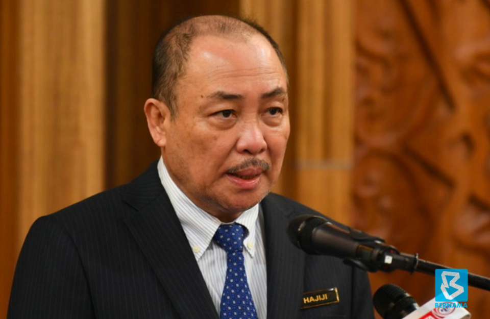Sabah Chief Minister Datuk Seri Hajiji Noor said that the state government's most recent meeting with Petronas took place on August 24, and that discussions were also held with Putrajaya via Finance Minister Datuk Seri Tengku Zafrul Abdul Aziz, and the response has been 'very positive'. — Bernama pic