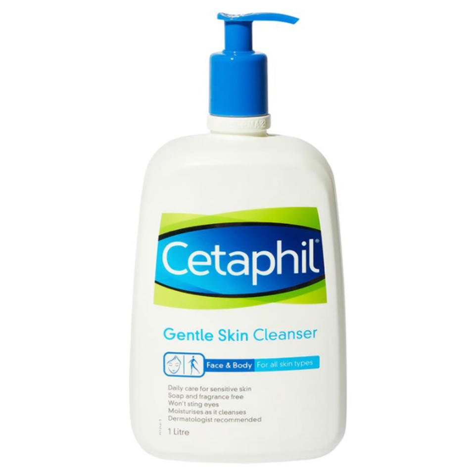 Cetaphil Gentle Skin Cleanser for Face & Body 1 Litre, $15.99 from Chemist Warehouse
