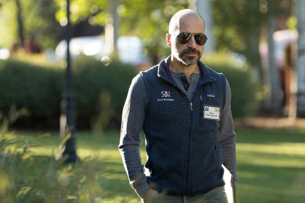 Uber has high hopes for its new CEO Dara Khosrowshahi, the former boss at Expedia (AFP Photo/Drew Angerer)