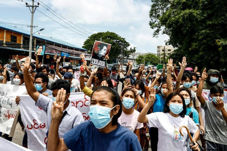 Suu Kyi's elected government was overthrown in a February 1 coup that sparked mass protests and displaced thousands in renewed clashes between the junta and ethnic rebel armies