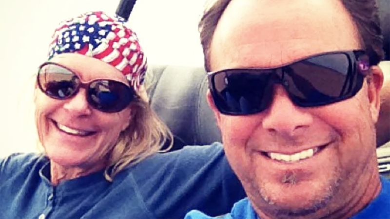 Nancy and Marty Smith, pictured here before they were killed in a freak accident.