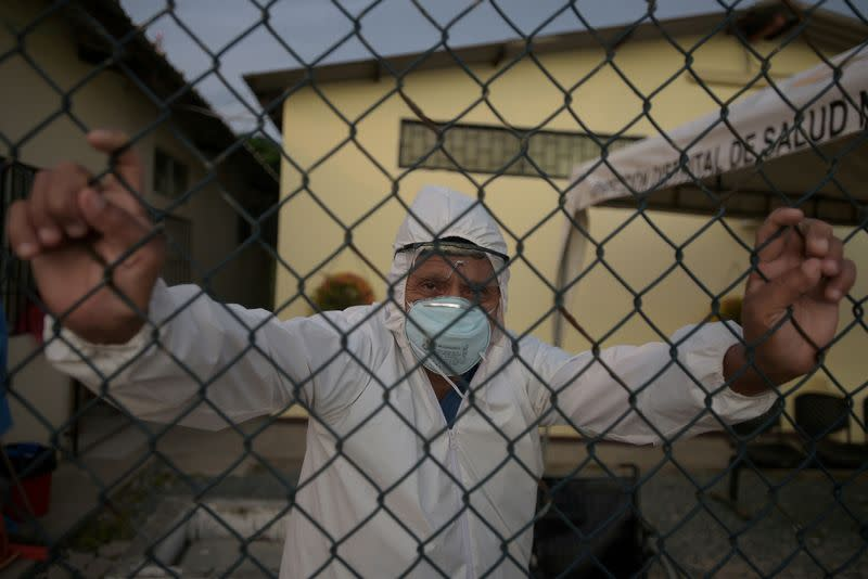 FILE PHOTO: The Wider Image: Rural Ecuador faces coronavirus outbreak without doctors