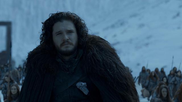 Jon Snow was revived to survive to the Game of Thrones finale. (HBO)