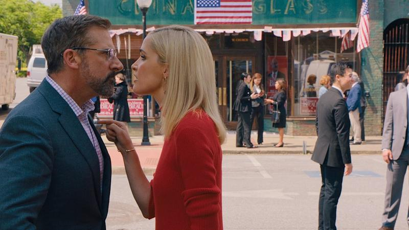 Steve Carrell and Rose Byrne in Irresistible