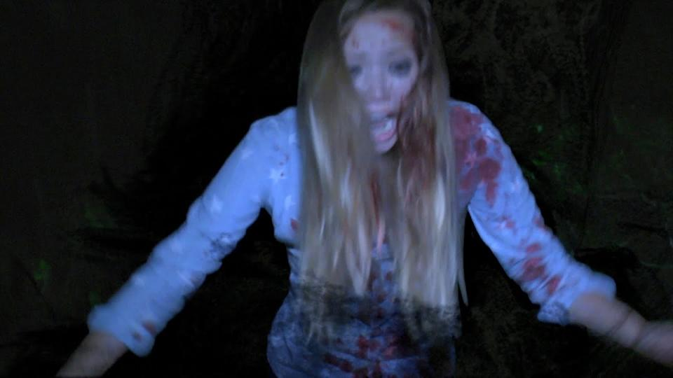 Jessica Perrin in Found Footage 3D (credit: Shudder)