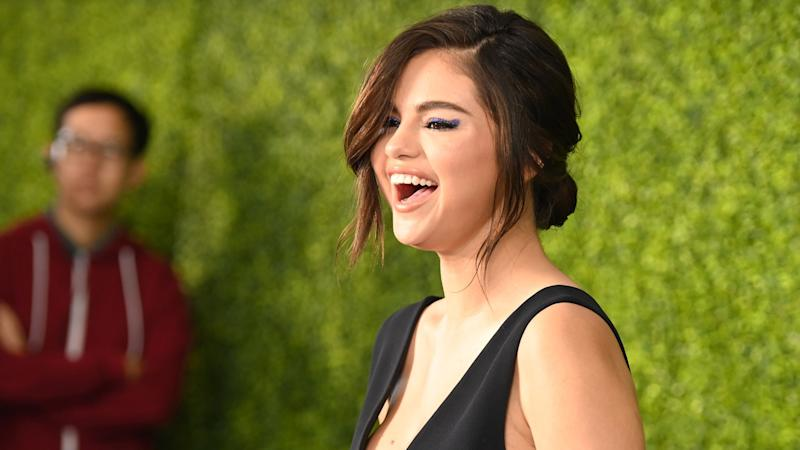 Selena Gomez Beams on First Red Carpet Return at 2019 WE Day