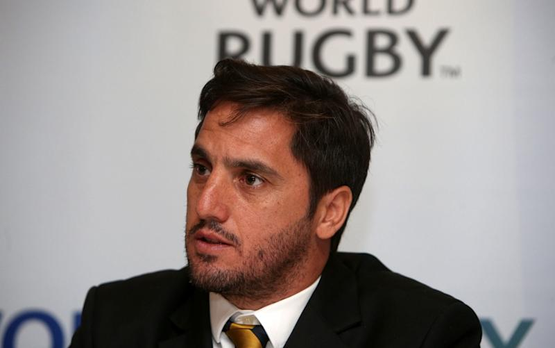 Agustin Pichot resigned from the World Rugby Council in the wake of his defeat to Sir Bill Beaumont in the election for World Rugby chairman - PA