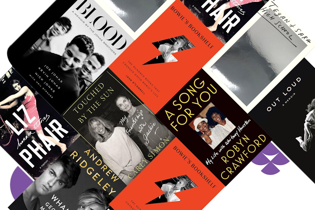It's a fall filled with shocking, revealing, lyrically written memoirs by some of the biggest names in music. We rounded up the 12 you need to have on your radar. For pre-order links, click the release date.
