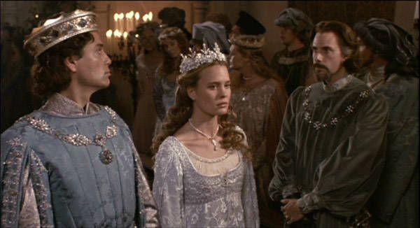 <p>We love a medieval royal wedding dress. I mean, that texture! That crown! Sure, Buttercup wasn't too happy about this marriage, but at least she got to wear a great dress for a hot sec? Maybe? It's fiction, you guys!</p>
