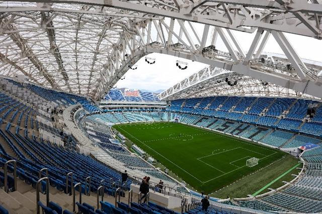 <p>Fisht Stadium, Sochi<br>Year opened: 2014<br>Capacity: 47,659<br>Which games: Three group games, one last 16 match, and a quarter final.<br>Fun fact: Named after Mount Fisht, in the Caucasus mountains </p>