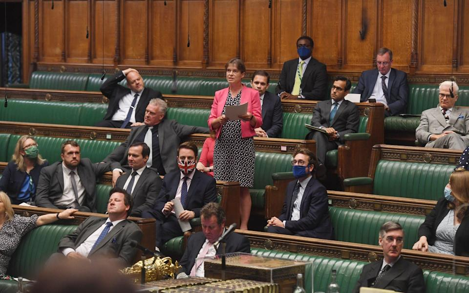 Conservative MPs at Prime Minister's Questions - Jessica Taylor/House of Commons