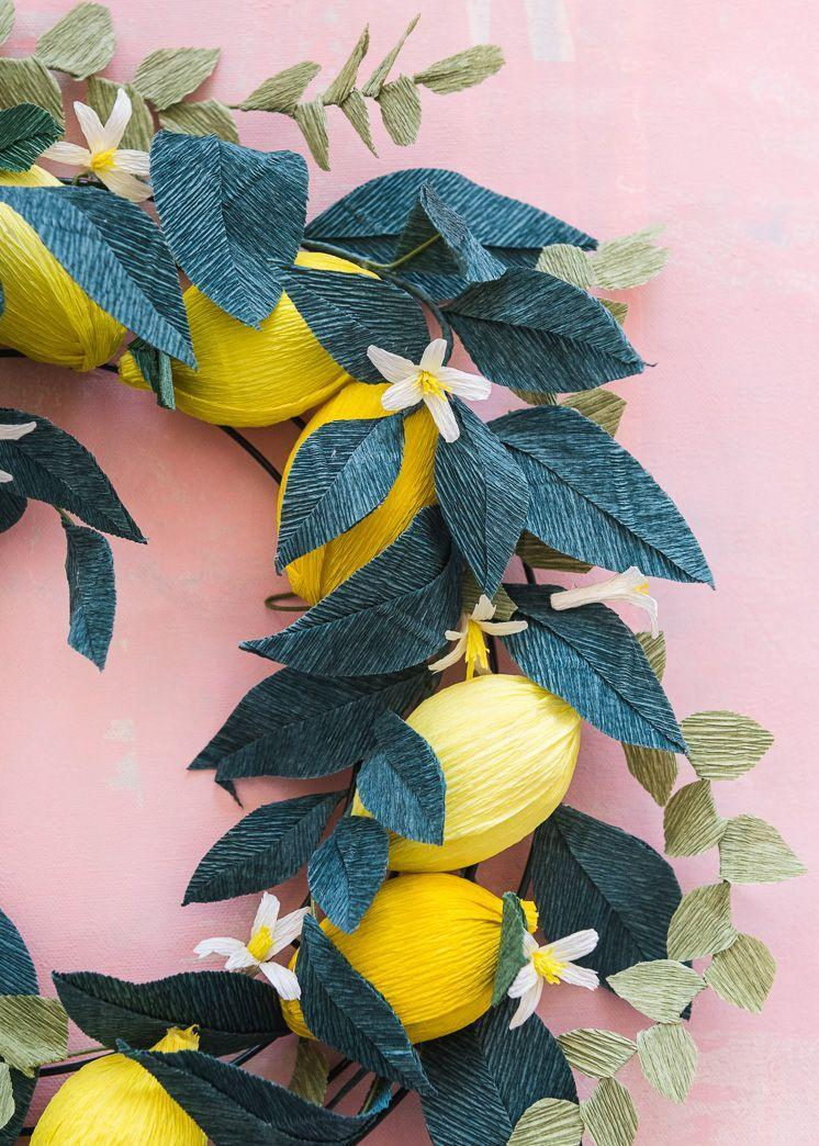 "<p>This gorgeous wreath will get your home ready for spring right away because of the bright pops of yellow.</p><p><strong>Get the tutorial at <a href=""https://thehousethatlarsbuilt.com/2018/04/nesting-nest-crepe-paper-lemon-wreath.html/"" rel=""nofollow noopener"" target=""_blank"" data-ylk=""slk:The House That Lars Built"" class=""link rapid-noclick-resp"">The House That Lars Built</a>.</strong></p><p><strong><a class=""link rapid-noclick-resp"" href=""https://www.amazon.com/Sumind-Wreath-Rings-Valentines-Decoration/dp/B0772NZX65/?tag=syn-yahoo-20&ascsubtag=%5Bartid%7C10050.g.4395%5Bsrc%7Cyahoo-us"" rel=""nofollow noopener"" target=""_blank"" data-ylk=""slk:SHOP WREATH FRAMES"">SHOP WREATH FRAMES</a><br></strong></p>"