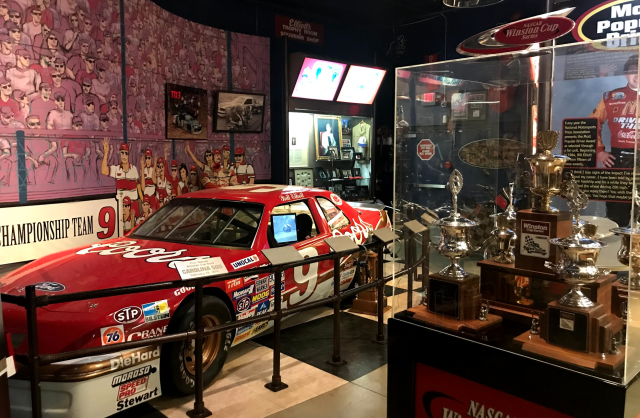 The Bill Elliott exhibit at the Georgia Racing Hall of Fame. (via Yahoo Sports)