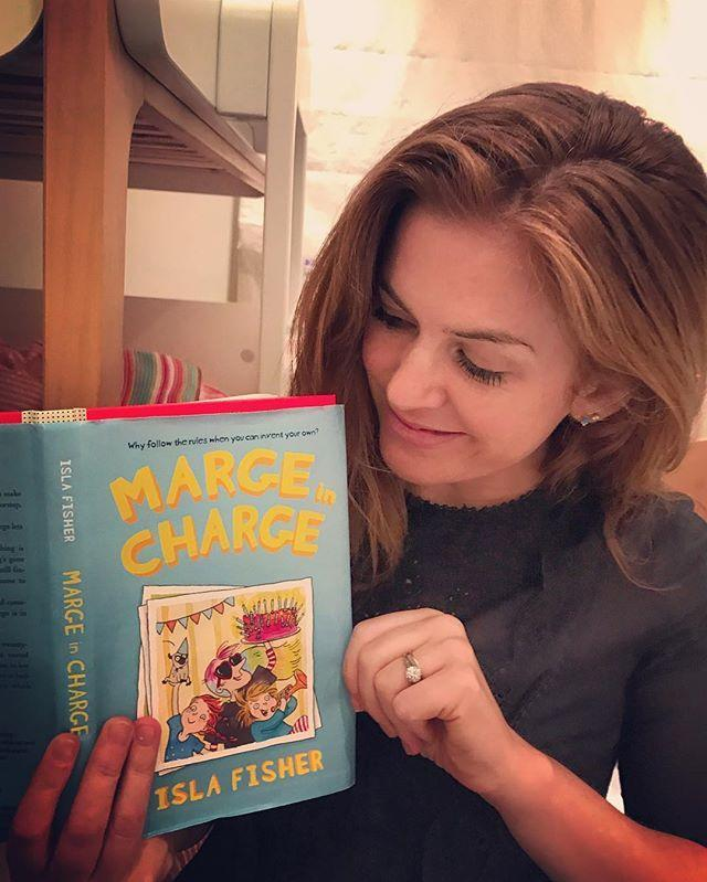 """<p>Meet Marge: a zany babysitter who's one part Amelia Bedelia, one part Mrs. Piggle Wiggle, and one part the imagination of funny girl Isla Fisher. </p><p>The <em>Confessions of a Shopaholic</em> star wrote three books about the adventures of Marge and her charges Jakey and Jemima Button for the U.S. series (the titles and availability change in other countries). She told <em><a href=""""https://ew.com/books/2018/05/09/isla-fisher-marge-in-charge-stolen-treasure-interview/"""" rel=""""nofollow noopener"""" target=""""_blank"""" data-ylk=""""slk:Entertainment Weekly"""" class=""""link rapid-noclick-resp"""">Entertainment Weekly</a></em> that her most important editors are her kids.</p><p>""""If the story becomes boring, they just walk out of the room,"""" Isla told the publication. """"If my real editor, who's brilliant, asks me to cut something, but the tiny people I have read it to have laughed in that moment, then I won't trim it. I am not writing the books for 30-year-olds, and I just want to please my audience."""" </p><p><a class=""""link rapid-noclick-resp"""" href=""""https://www.amazon.com/Marge-Charge-Stolen-Treasure-Fisher/dp/0062662228/ref=sr_1_1?crid=QWQ05LDE5T52&dchild=1&keywords=marge+in+charge+book+series&qid=1599795499&s=books&sprefix=marge+in+%2Cstripbooks%2C175&sr=1-1&tag=syn-yahoo-20&ascsubtag=%5Bartid%7C2140.g.33987725%5Bsrc%7Cyahoo-us"""" rel=""""nofollow noopener"""" target=""""_blank"""" data-ylk=""""slk:Buy the Book"""">Buy the Book</a></p><p><a href=""""https://www.instagram.com/p/BSejZSGA-AY/"""" rel=""""nofollow noopener"""" target=""""_blank"""" data-ylk=""""slk:See the original post on Instagram"""" class=""""link rapid-noclick-resp"""">See the original post on Instagram</a></p>"""