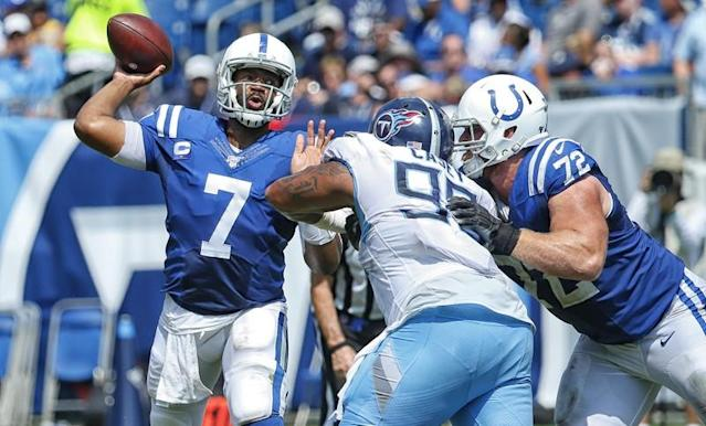A quick look at Jacoby Brissett and the Colts