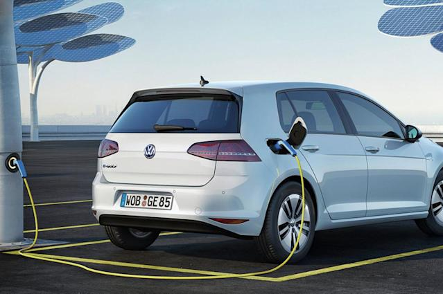 """The all-electric """"Volkswagen for the digital age"""" will have a 300-mile driving range, fully charge in 15 minutes, and cost less than similar gas models, according to the VW Group CEO. Those are high goals the company aims to reach by 2025."""