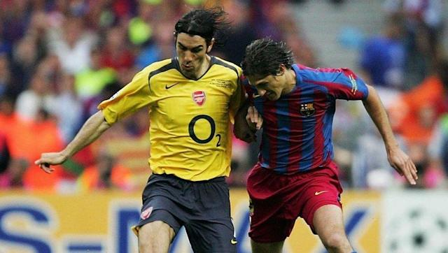 <p>Robert Pires played his last game for Arsenal in the 2006 Champions League final, with the 33-year-old hoping to help the Gunners win the one major trophy that had remained elusive.</p> <br><p>As it was, the dismissal of goalkeeper Jens Lehmann just 18 minutes into the clash with Barcelona saw Pires sacrificed for replacement stopper Manuel Almunia. He then watched on helplessly as Arsenal lost 2-1 and joined Villarreal in Spain that summer.</p>