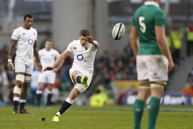 Leading light: Owen Farrell: AFP/Getty Images