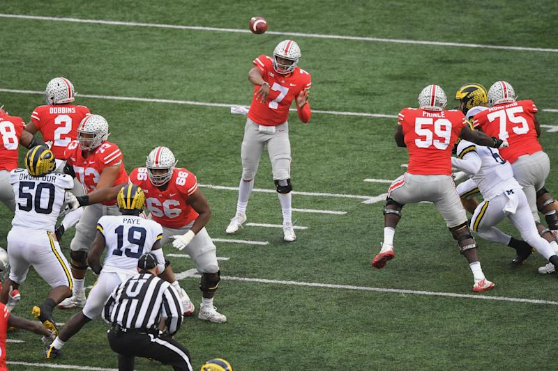 ohio state is back in the playoff race after destroying michigan