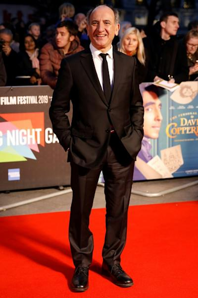 On the red carpet for the European Premiere of 'The Personal History of David Copperfield'