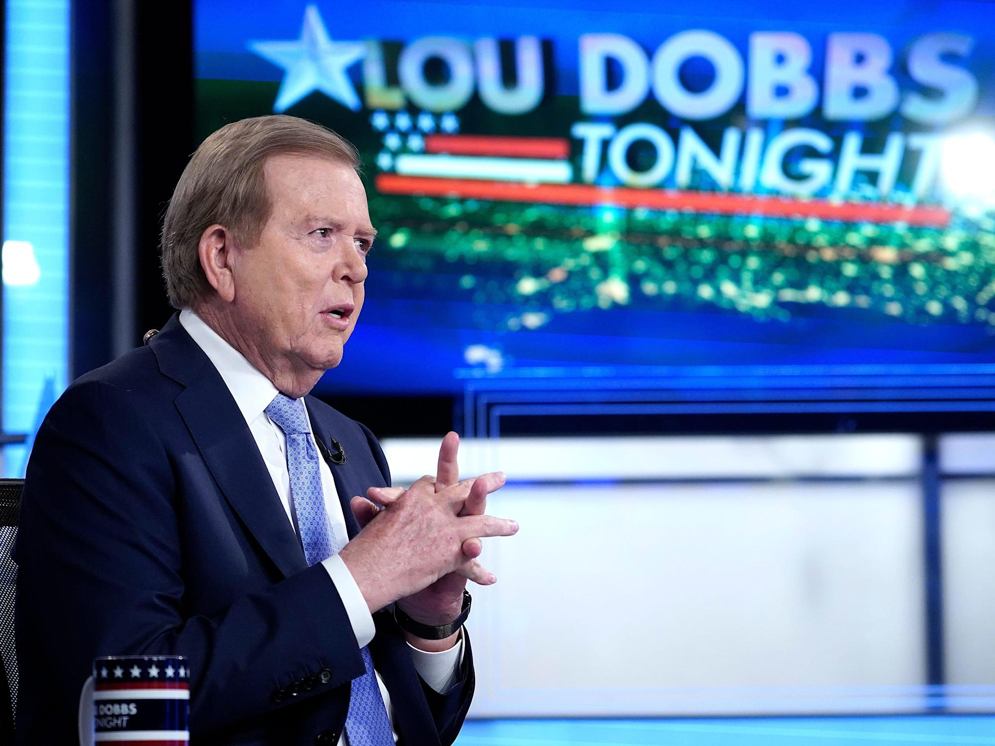 Fox host Lou Dobbs says 'I don't know why anyone' would vote for Sen. Lindsey Graham