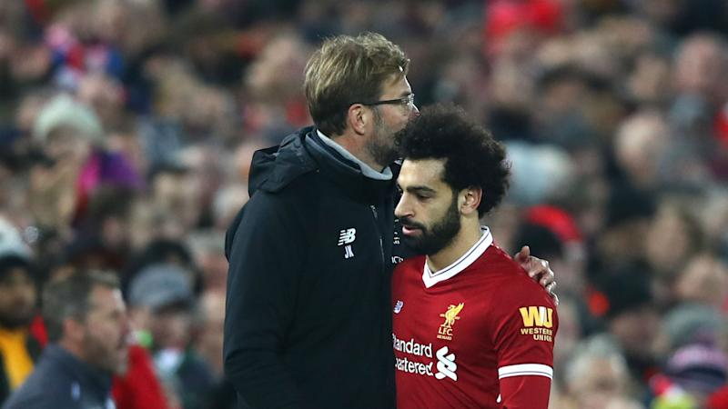 Klopp doesn't want Liverpool to chase Golden Boot for Salah