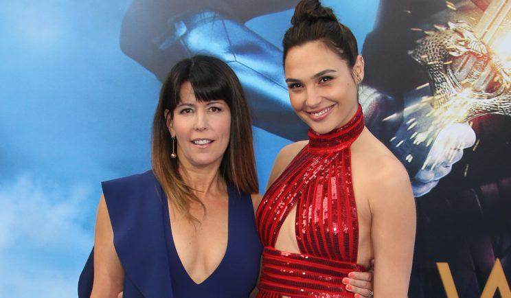 Wonder Woman's dynamic duo, Patty Jenkins and Gal Gadot - Credit: WENN