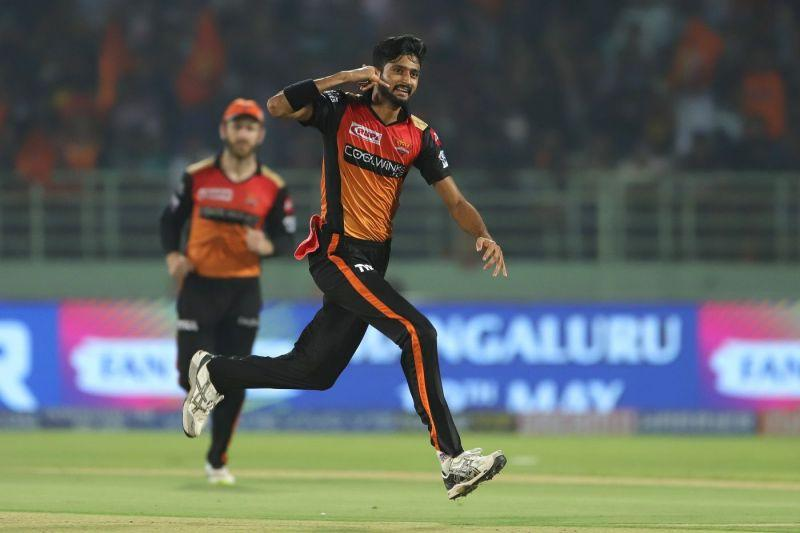 Khaleel Ahmed was exceptional with the ball for SRH this year