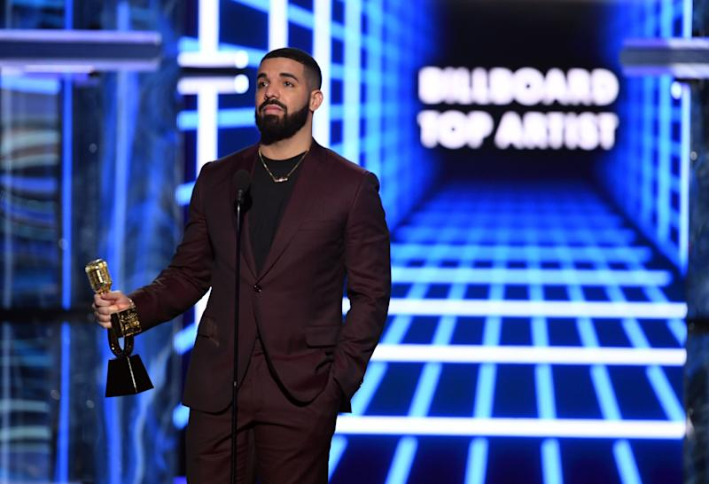 Drake no Billboard Music Awards 2019. Foto: Kevin Winter/Getty Images for dcp