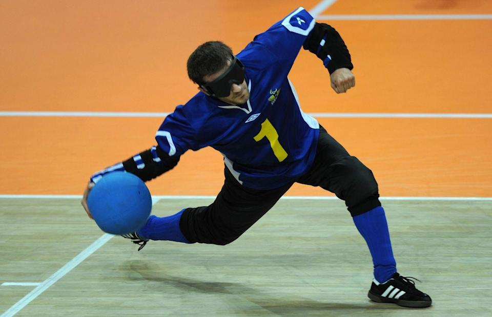 <p>Goalball is one of two sports – along with Boccia – that is unique to the Paralympics. Designed for athletes with visual impairments, the aim of the game is to roll or throw the ball into the other opponents's goal as many times as possible. </p><p>How best to describe the sport? It's faced-paced, fun and frenetic.</p>