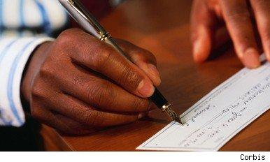 consumers charged for cash and cheque payments