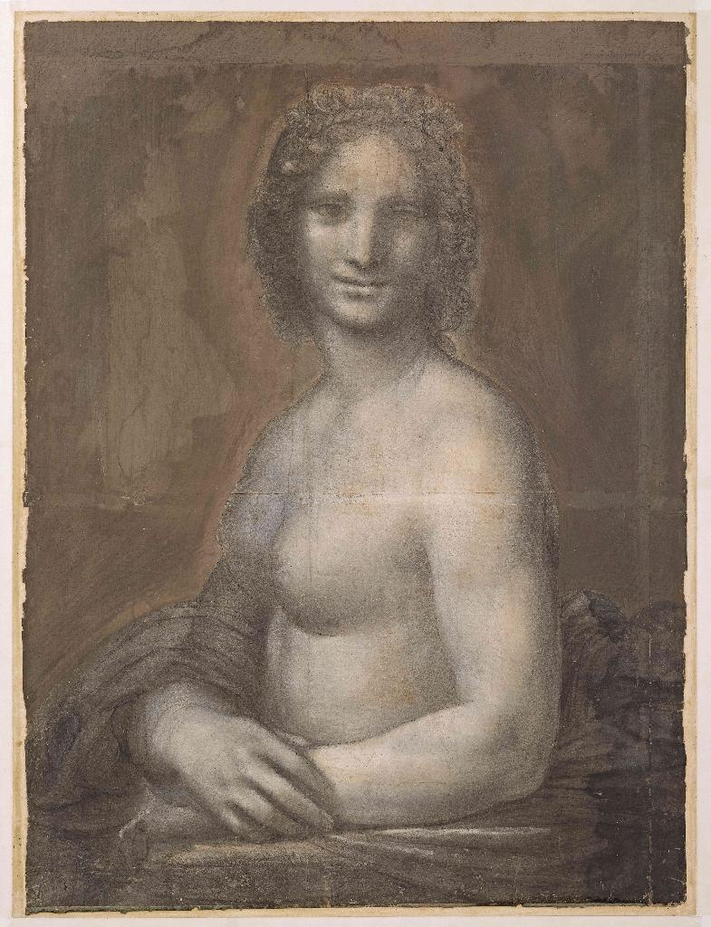 Experts at the Louvre in Paris have been examining the charcoal drawing known as 'Monna Vanna'