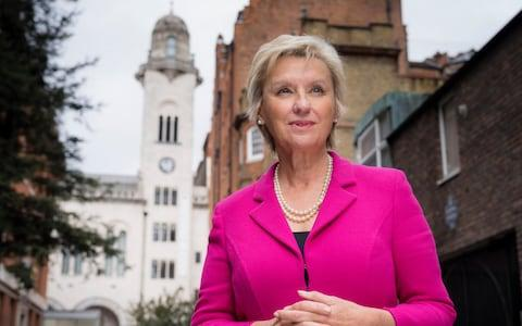 Tina Brown, Lady Evans CBE - Credit: Andrew Crowley /The Telegraph