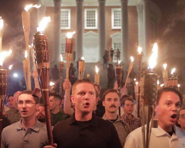 Last night's terrifying UVA march was just the beginning of the Unite The Right rally in Charlottesville