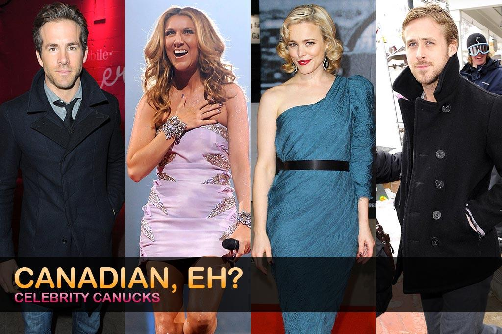 In honor of Canada Day, we decided to take a peek at our favorite celebs who hail from north of the border.