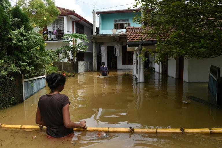 Floods and landslides in Sri Lanka kill at least 150 people