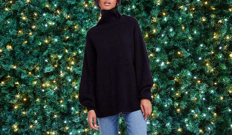 This chic sweater is the ultimate layering tool. (Photo: Nordstrom)