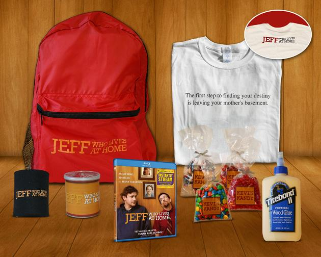 Jeff Who Lives at Home Blu-ray Prize Pack