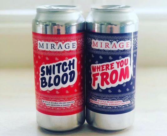 A brewery has cancelled a forthcoming release after receiving negative feedback to its Bloods and Crips-themed beer. (Photo: Twitter)