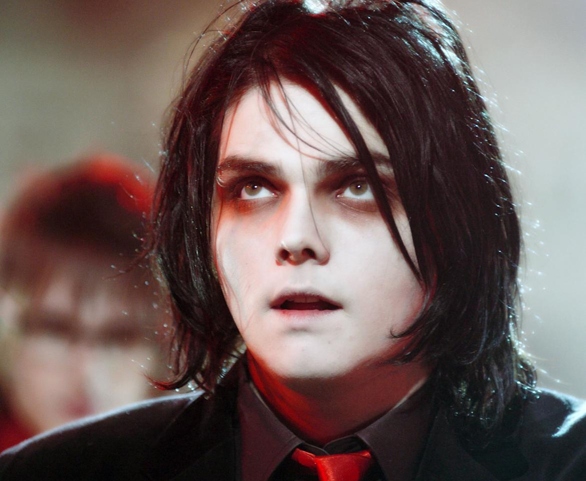 Gerard Way of My Chemical Romance (Photo by Theo Wargo/WireImage)