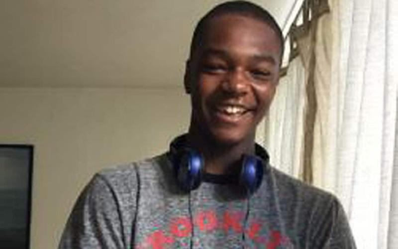 Donnell Rhule was just 18 years old - PA