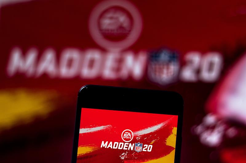 'Madden' still appears to have a stranglehold on the NFL simulation market. (Rafael Henrique/SOPA Images/ via Getty Images)