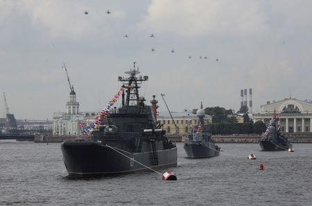 Russian military spending falls for first time in two decades, watchdog says