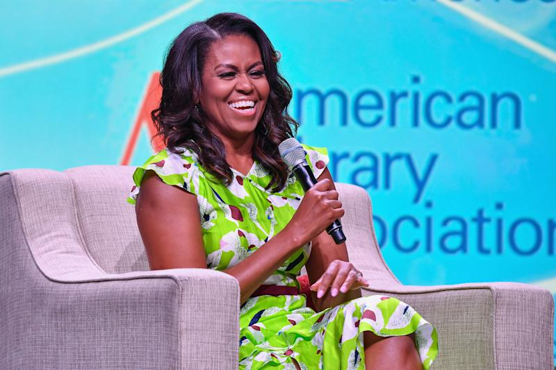 Michelle Obama on George W. Bush: 'I love him to death'