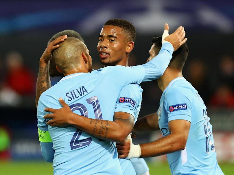 Gabriel Jesus was on point for City once again (Getty)