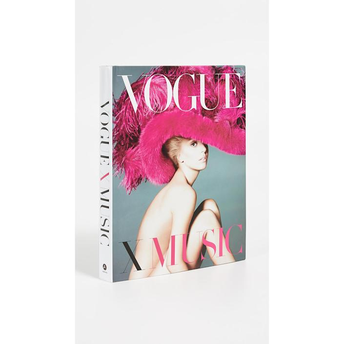 vogue x music style book, gifts for her
