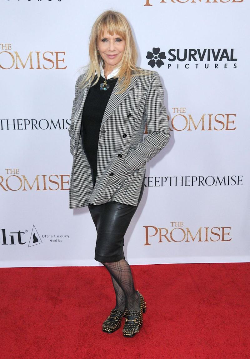 Rosanna Arquette has also given details of a sordid incident with the movie producer. Source: Getty