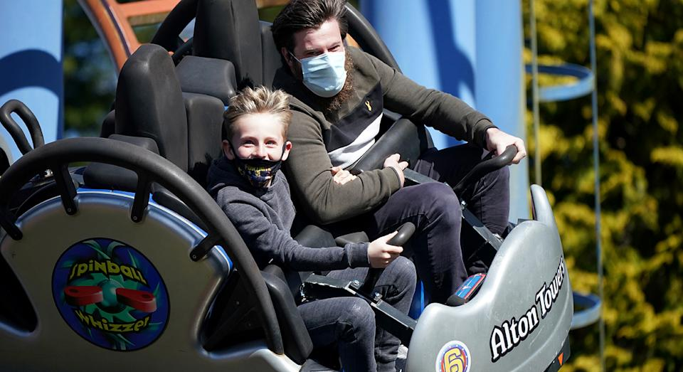 Alton Towers is the ideal day trip for the thrill seekers and adrenalin junkies.  (Getty Images)